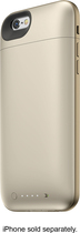 mophie - juice pack plus External Battery Case for Apple® iPhone® 6 - Gold