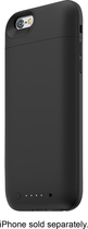 mophie - juice pack air External Battery Case for Apple® iPhone® 6 - Black