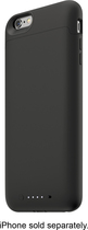 mophie - juice pack External Battery Case for Apple® iPhone® 6 Plus - Black