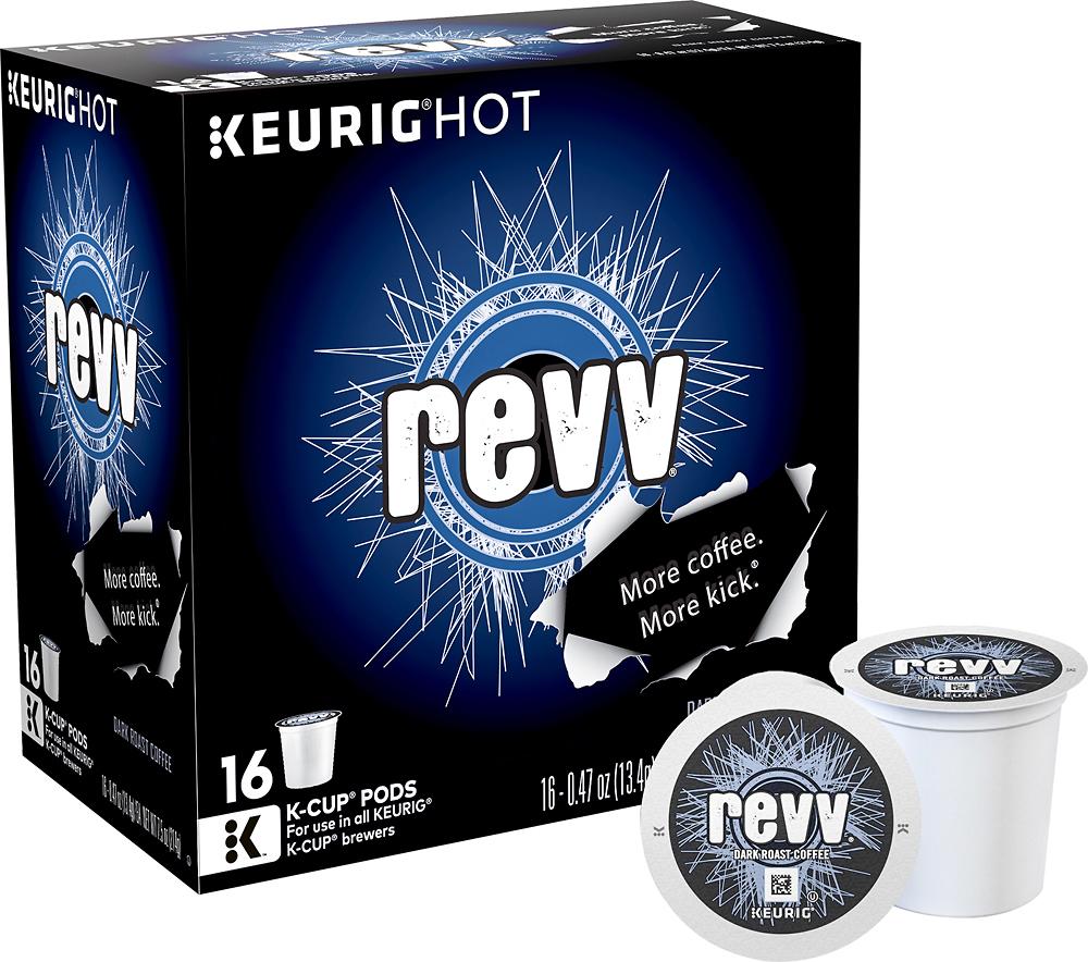Keurig - Revv Coffee K-Cups (16-Pack) - White
