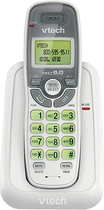 VTech - DECT 6.0 Cordless Phone with Caller ID - White
