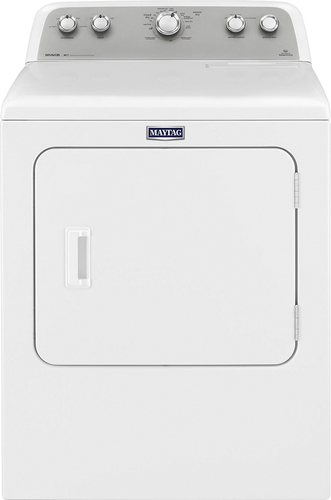 Maytag - 7.0 Cu. Ft. 11-Cycle Electric Dryer - White