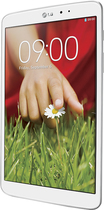 LG - G Pad 8.3 - 16GB - White