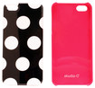 Studio C - Hot to Trot Collection Hard Shell Case for Apple® iPhone® 5 - Black/White