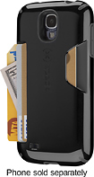 Speck - Candyshell Card Case for Samsung Galaxy S 4 Cell Phones - Black