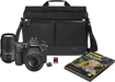Nikon - D7100 DSLR Camera with 18-140mm and 55-300mm VR Lens Kit - Black