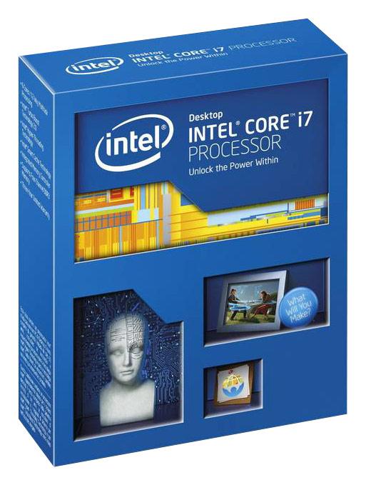Intel® - Core™ i7-4820K 3.7GHz Processor - Blue