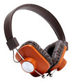 eskuché - Control v2 ORG On-Ear Headphones - Black/Orange