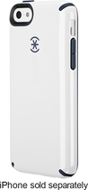 Speck - Candyshell Case for Apple® iPhone® 5c - White/Charcoal