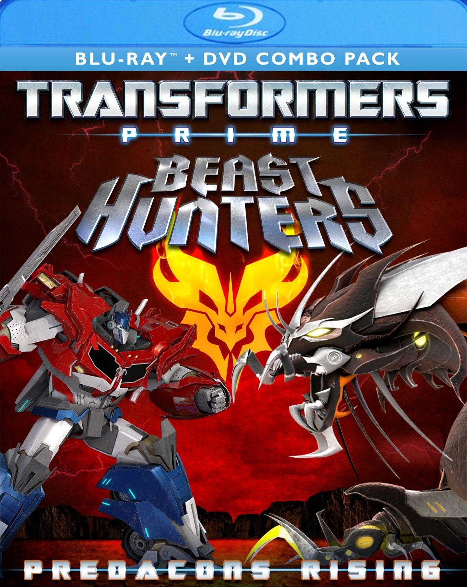 Transformers Prime: Beast Hunters - Predacons Rising [blu-ray] 21669569