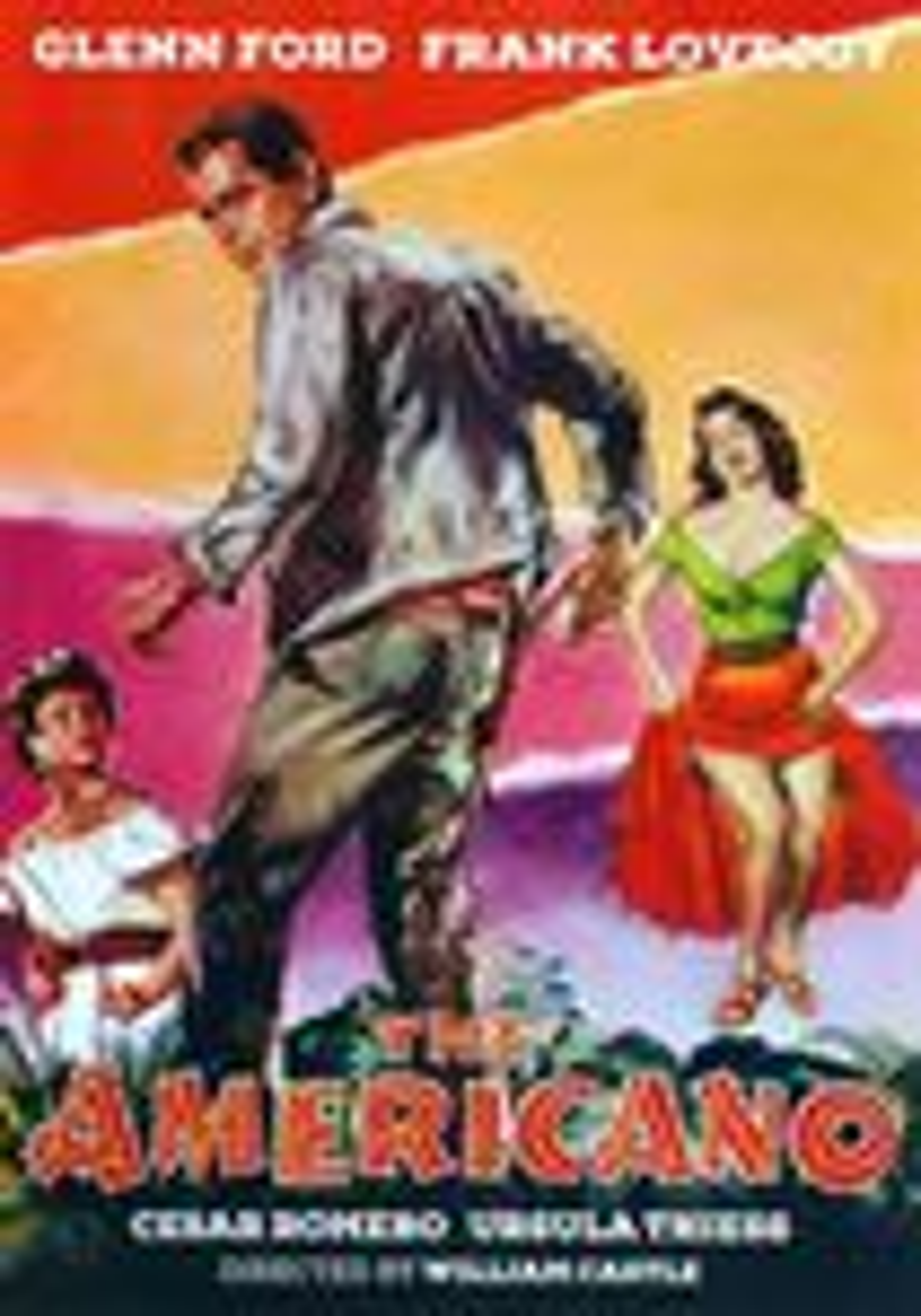 The Americano (dvd) 21718113