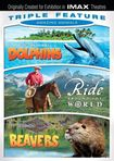 Amazing Animals Triple Feature: Dolphins/ride Around The World/beavers [3 Discs] (dvd) 21751514