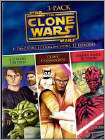 Star Wars The Clone Wars Volumes 3-Pack (DVD) (3 Disc)