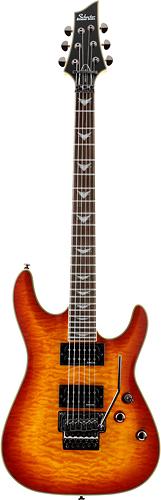 Schecter - Omen Extreme Floyd Rose 6-String Full-Size Electric Guitar - Vintage Sunburst