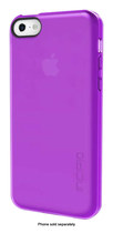 Incipio - feather CLEAR Ultralight Snap-On Case for Apple® iPhone® 5c - Clear Purple
