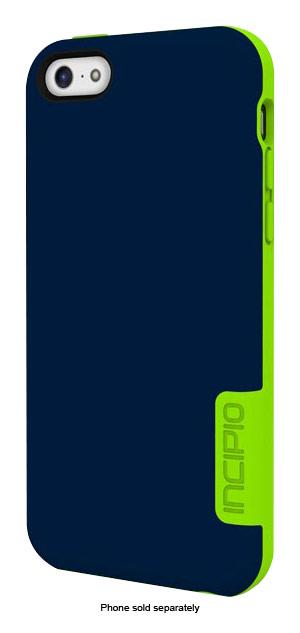 Incipio - [OVRMLD] Case for Apple® iPhone® 5c - Blue/Lime
