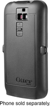 OtterBox - Defender Series Case for LG G2 Cell Phones (Sprint, T-Cell) - Black