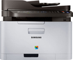 Samsung - Xpress C460FW Wireless Color All-In-One Printer - White/Black