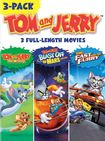 Tom And Jerry 3-pack: Tom And Jerry - The Movie/blast Off To Mars/the Fast And The Furry [3 Discs] (dvd) 21910848