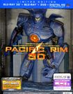 Pacific Rim [4 Discs] [includes Digital Copy] [ultraviolet] [3d/2d] [blu-ray/dvd] 22002681