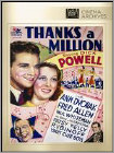 Thanks A Million (Black & White) (DVD) (Full Screen/Black & White) (Eng)