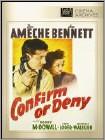 Confirm Or Deny (Black & White) (DVD) (Full Screen/Black & White) (Eng)