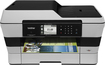 Brother - Network-Ready Wireless All-In-One Printer - Gray
