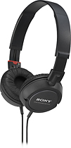 Sony - Over-The-Ear Headphones - Black