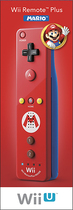 Nintendo - Wii Remote Plus - Red/Blue