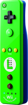 Nintendo - Wii Remote Plus - Green/Blue