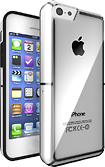 iFrogz - LiveWire Case for Apple® iPhone® 5c - Clear/Black