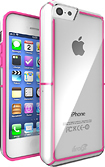 iFrogz - LiveWire Case for Apple® iPhone® 5c - Clear/Pink