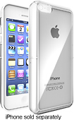 iFrogz - LiveWire Case for Apple® iPhone® 5c - Clear/White