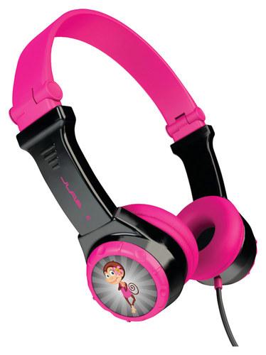 Jlab - Jbuddies Over-the-ear Headphones - Black/pink