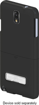 Platinum Series - Kickstand Case with Holster for Samsung Galaxy Note 3 Cell Phones - Black