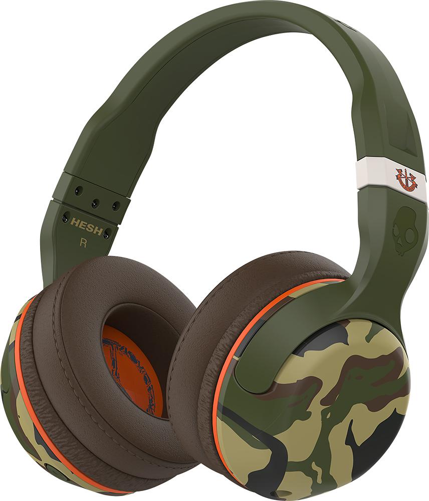 Skullcandy - Hesh Wireless Over-the-ear Headphones - Camo