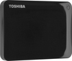 Toshiba - Canvio Connect II 2TB External USB 3.0 Portable Hard Drive - Black