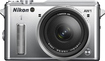 Nikon - 1 AW1 Mirrorless Camera with 11-27.5mm Lens - Silver