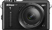 Nikon - 1 AW1 Mirrorless Camera with 11-27.5mm & 10mm Lenses - Black