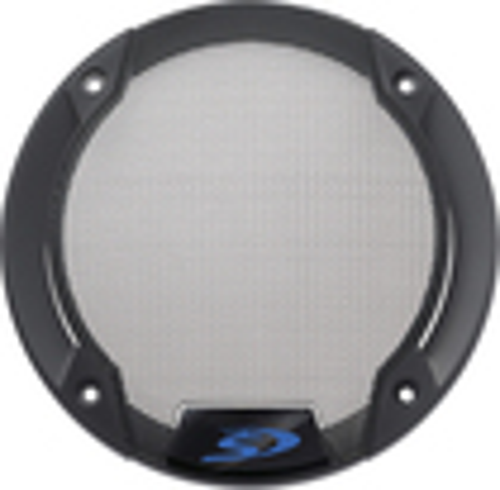 "Alpine - Speaker Grille for Select Alpine 6-1/2"" Speakers (2-Pack) - Gray/Black"