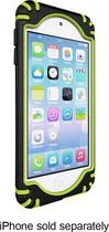 iFrogz - Bullfrogz Case for Apple® iPod® touch 5th Generation - Black/Green
