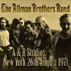 A & R Studios :New York 26th August 1971 (Uk) - CD