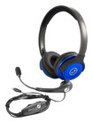 Able Planet - Clear Voice On-Ear Headphones and Linx Microphone - Blue