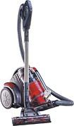 Hoover - Zen Whisper Multi-Cyclonic HEPA Bagless Canister Vacuum - Platinum