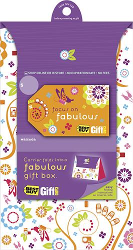 BestBuyGC - $100 Focus on Fabulous Gift Card - Multi