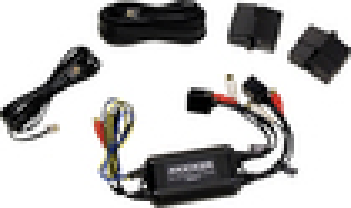 Kicker - Marine Dual-Zone Remote Level Controller - Black