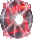 Cooler Master - MegaFlow 200mm Chassis Cooling Fan - Clear