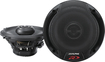 "Alpine - Type R 5-1/4"" 2-Way Coaxial Car Speakers with Hybrid Fiber Cones (Pair) - Black"