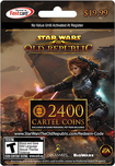 EA Online - Star Wars: The Old Republic 2400 Cartel Coins Card for Windows