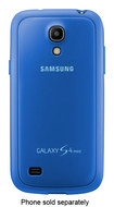 Samsung - Protective Cover for Samsung Galaxy S 4 Mini Cell Phones - Light Blue